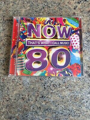 NOW 80, That's What I Call Music! - Various Artists (2 CD ALBUM, 2011)