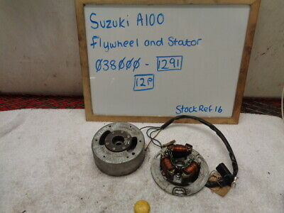 Suzuki A100 038000-1291-12P Stator And Flywheel Generator Magneto