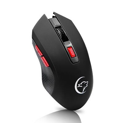 2.4GHz Wireless Mouse Gamer New Game Wireless Mice with USB Receiver Mause T5