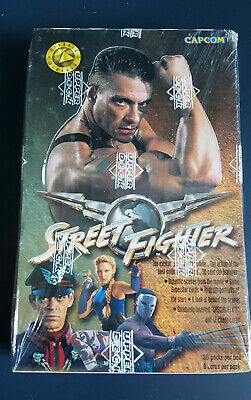 1994 Upper Deck Street Fighter Movie Trading Cards Box of 36 Capcom Sealed Box