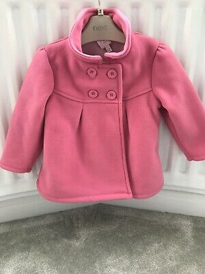 BABY GIRLS PINK COAT 18-24 mths JASPER CONRAN