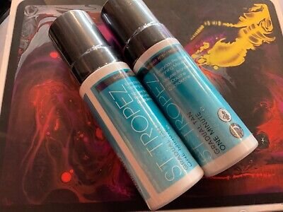 2 x NEW St Tropez Gradual Tan One Minute Everyday Pre Shower Tanning Total 240ml