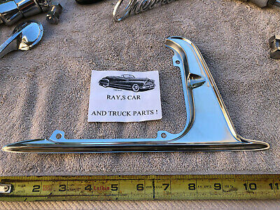 62 63 Chevy SS or Impala Stainless Gas Door Guard 1962 1963