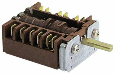 Operation Switch 4 Operating Positions 5No Sequence 0-1-2-3 16A Shaft D 6X4.6Mm