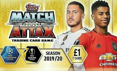 Match Attax Champions & Europa League 19/20 Limited Edition Code Cards #Le1-Le11