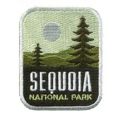 Sequoia National Park Iron On Travel Patch