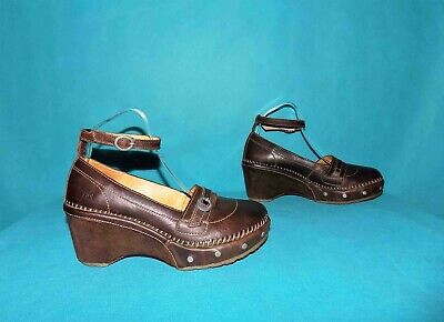 Babies Wedge Art Brown Leather P 39 Fr
