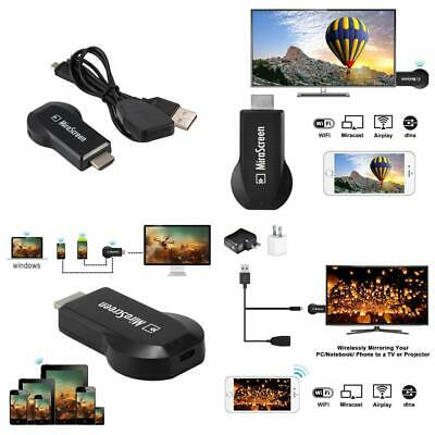 MiraScreen E5S WiFi Display Dongle Receiver HDMI TV Miracast DLNA Airplay...