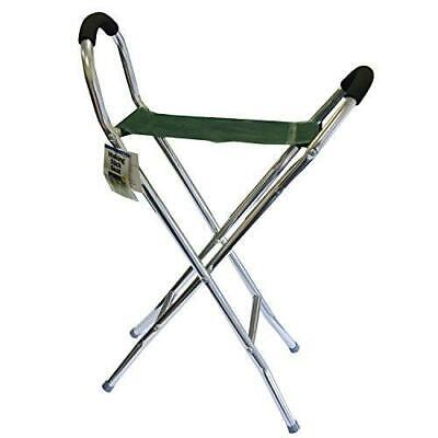 Country Classics Pyramid Folding Stool Lightweight One Size, Green