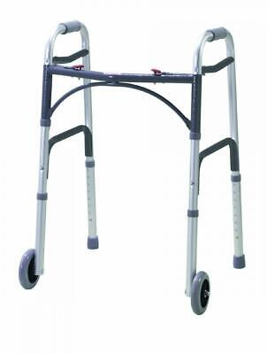 Drive DeVilbiss Healthcare Folding Lightweight Aluminium Walking Frame with...