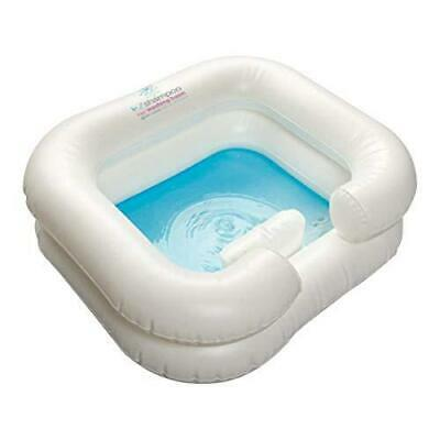 Homecraft Deluxe Inflatable Hair Washing Basin, Shampoo and Conditioner...