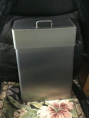 Lovair 10L Sanitary Bin Stainless Steel Satin Hygiene Disposal Unit Sani bin