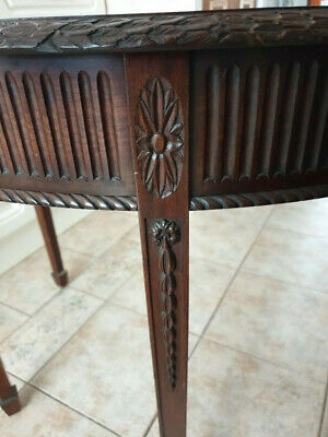 Antique 1910 edwardian Hall Table