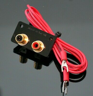 SME 3009 3012 SII S2 tonearms Gold plated RCA PHONO socket CONVERTER