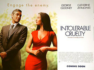 Intolerable Cruelty (Regular) (Double Sided) Original Movie Poster