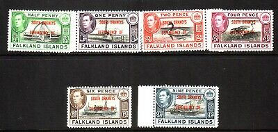 British Colonies George Vi Mint Selection...includes U/M....cat. Approx £115...
