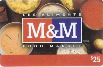 Gift Cards: M&M Food Market (Canada) Soups, bilingual, $0