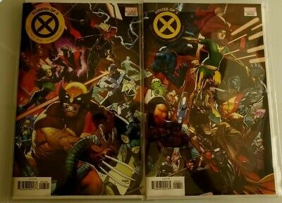 POWERS OF X #3, HOUSE OF X 3 Asrar Connecting Variant Cover Set Marvel 2019 NM+
