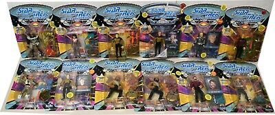 Lot Of (41) Star Trek The Next Generation Action Figures Q BORG BARCLAY + BC903