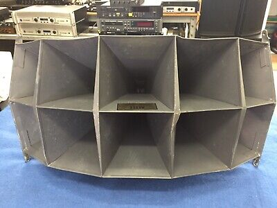 Vintage Altec 1005B Multi Cell Horn With Dual Throat