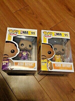 Funko POP Sports NBA 2013 Kobe Bryant #11 (w/ Arm Band) Rare & VAULTED Lot of 2