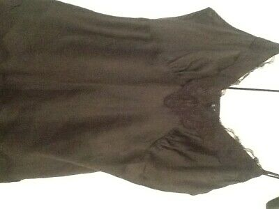 Coast silk camisole top size 12