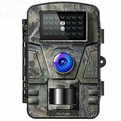 Victure Wildlife Camera 12MP 1080P Trail Game Camera Motion Activated Infrared