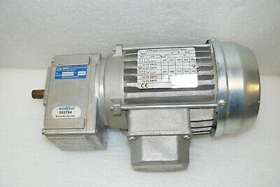 Indur Montech Drive Motor W/ Gear Reducer 1:7.78 Ratio 3 Ph