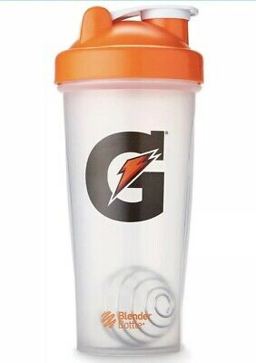 Brand New Gatorade Protein Powder Workout Mixer Shaker Blender Bottle Cup Clear