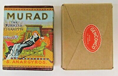 1920s / 1930s advertising fake MURAD CIGARETTE BOX novelty Gag Japan mint sealed