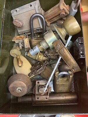Locksmith vintage lock Lot