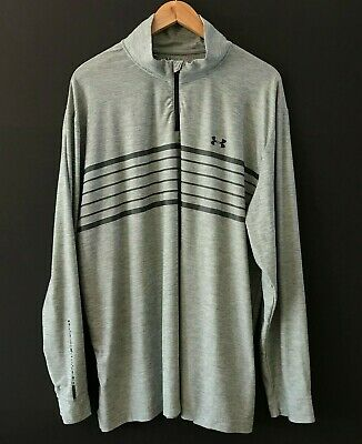 New With Tags Mens Under Armour UA ColdGear SC Trey Infrared Fleece 1//4 Zip Top