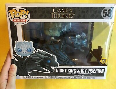 Funko Pop! Game Of Thrones ~ Pop Rides ~ Night King & Icy Viserion