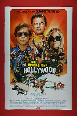 Once Upon A Time In Hollywood Brad Pitt Margot Kidder Movie Poster  24X36   ONCE