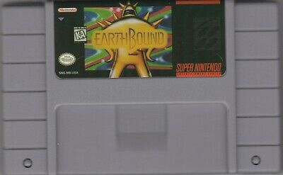 Snes Earthbound Super Nintendo Snes Video Game Cartridge