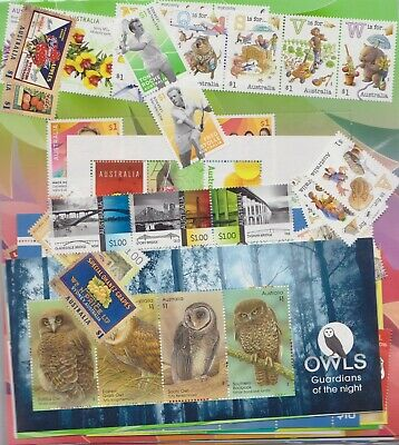 $1 X102 Australia Post Stamps Brand New Mint Full Gum Pay $90 Face Value $102 ^
