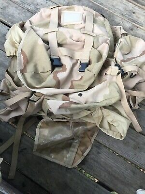 Usgi Desert Camo Molle Ii Large Ruck Sack With Straps, Pouches & Frame