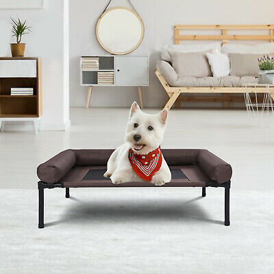 Pet Elevated Cot Dog Cat Sleeper Bed Raised Lounger Camping Steel Mat 40 LBS