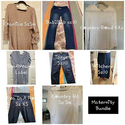 Maternity Clothes Bundle - Small- Great Used Condition