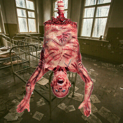 Halloween House Decoration Ghost Props Redness Hanging Body Horror Scary Haunted