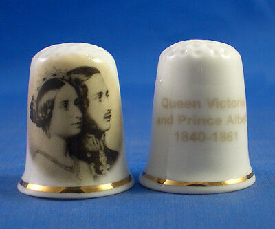 Birchcroft Thimble H M Queen Elizabeth meets Baby Archie with Free Dome Box