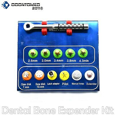 Dental Implant Bone Expander Compression Kit Sinus Lift With Saw Disks DN-2195