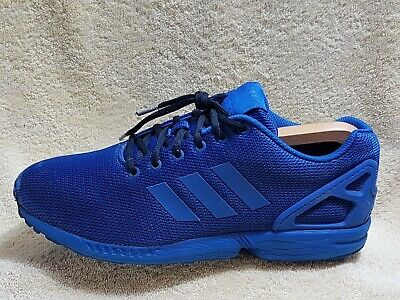 new arrival a901d 2b828 ADIDAS ZX FLUX Torsion mens trainers Blue UK 9 EU 43.5
