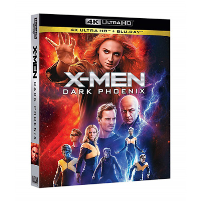 X-Men: Dark Phoenix (4K Ultra Hd+Blu-Ray)  [Blu-Ray Nuovo]