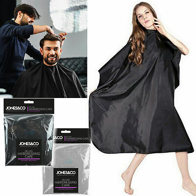🔥New Unisex Pro Hairdressing Cape Barbers Gown Cutting Cover Salon Barber Apron