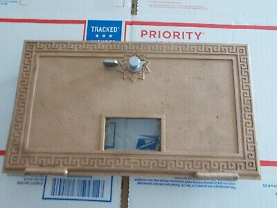 Vintage Post Office Box #3 Door Bank Lock Box Door in Original Condition