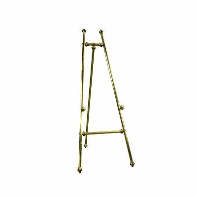 Tall Freestanding Metal gold Easel Wedding Picture Display 165cm