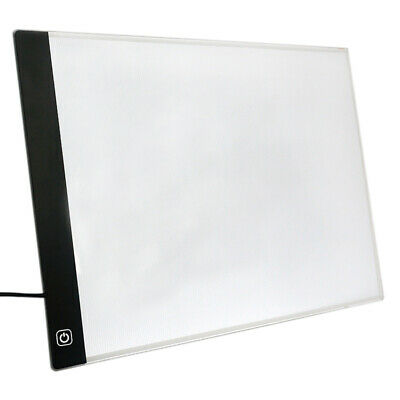 Led Lighted Drawing Board Ultra A4 Drawing Table Tablet Light Pad Sketch Bo J1Z1