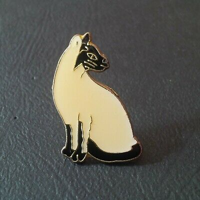 pin badge pin's chat cat animal animaux SIAMOIS siamese