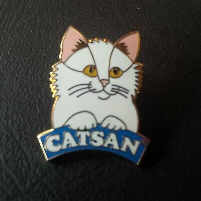 pin badge pin's chat cat animal animaux catsan marque
